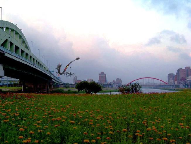 2008-09-09孔明車迎風觀山河濱公園5.JPG
